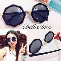Женские стильные круглые солнцезащитные очки m-581JA