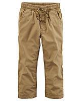 Штаны джогеры Carters на мальчика 4-8 лет Jersey-Lined Utility Pants