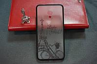 Чехол бампер силиконовый Meizu M5S с рисунком