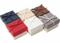Подарочная коробочка для кольца  и серьг - Классика №3
