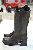 Сапоги демисезонные Moda Jessy темно-серые -415