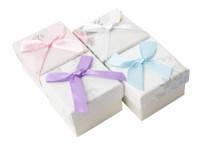 Подарочная коробочка для кольца  и серьг - Весенняя нежность
