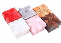 Подарочная коробочка для кольца  и серьг - Классика №4