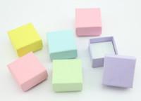 Подарочная коробочка для кольца  и серьг - Гладкая одноцветная - CubeShop - подарки и подарочная упаковка в Киеве