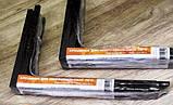 Кріплення для мікрохвильової печі (чорний колір) кронштейн для СВЧ мікрохвильовки, фото 6