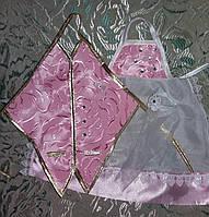 Одежки для свадебного шампанского (розовые)