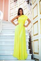 Вечернее платье трансформер (желтое)