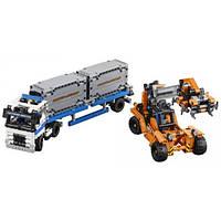 Lego technic контейнерный терминал Container Yard 42062 Building