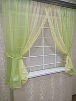 Комплект штор Кларис Дыня, кухонные, фото 2
