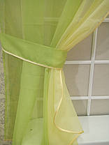 Комплект штор Кларис Дыня, кухонные, фото 3