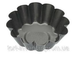 Baking Tools Форма мини для выпечки кекса Корзинка рифленая 5 x 3 x 8.5 см 1 шт