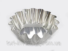 Baking Tools Форма для выпечки кекса Корзинка рифленая 5.5 x 2.5 x 8 см 1 шт