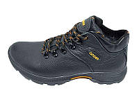 Мужские зимние кроссовки с нат.кожи Stael 130 Anser Black размеры: 40 41 42 43 44 45