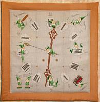 """Набор для вышивания крестом 101 K """"Настенные часы"""" (Mic & Mac- L`Horloge) NIMUЁ"""