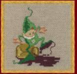 28-A0019 К (Aida) Набор для вышивания крестом NIMUЁ - Mic 4-L`EncrierМик 4-Чернильница