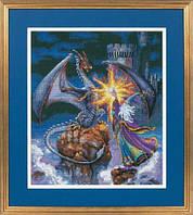 """Набор для вышивания крестом 35080 """"Великолепный волшебник"""" DIMENSIONS"""