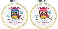 """Набор для вышивания крестом 70-08965 """"Первое рождество"""" DIMENSIONS"""