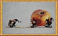 """Набор для вышивания крестом 70-М006 К """"Яблоко"""" (Pomme a Cidre) NIMUЁ"""