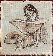 """Набор для вышивания крестом 73-М012 К """"Отражение в лисичках"""" (Le Miroir aux Girolles) NIMUЁ"""