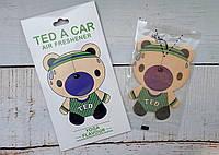 """Стильный парфюмированный ароматизатор авто/гардероб """"Ted Yoga"""" Лайм и мята"""