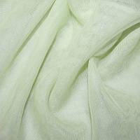 Тюль микросетка luca салатовая