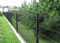 Забор из сварных панелей своими руками