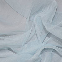 Тюль микросетка luca голубой