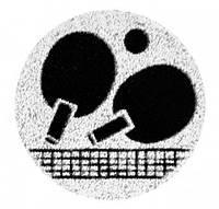 Наклейка на медаль Пинг-понг  25-0071