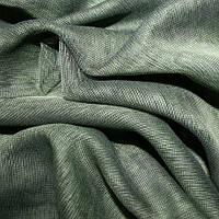 Тюль микросетка luca зеленый