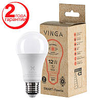 Светодиодная лампочка LED Vinga VL-A60E27-123L-3SD с функцией изменения яркости свечения
