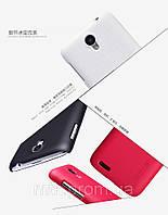 Чехол-бампер и плёнка NILLKIN для телефона Lenovo S650 красный