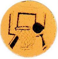 Наклейка на медаль Баскетбол 25-0108