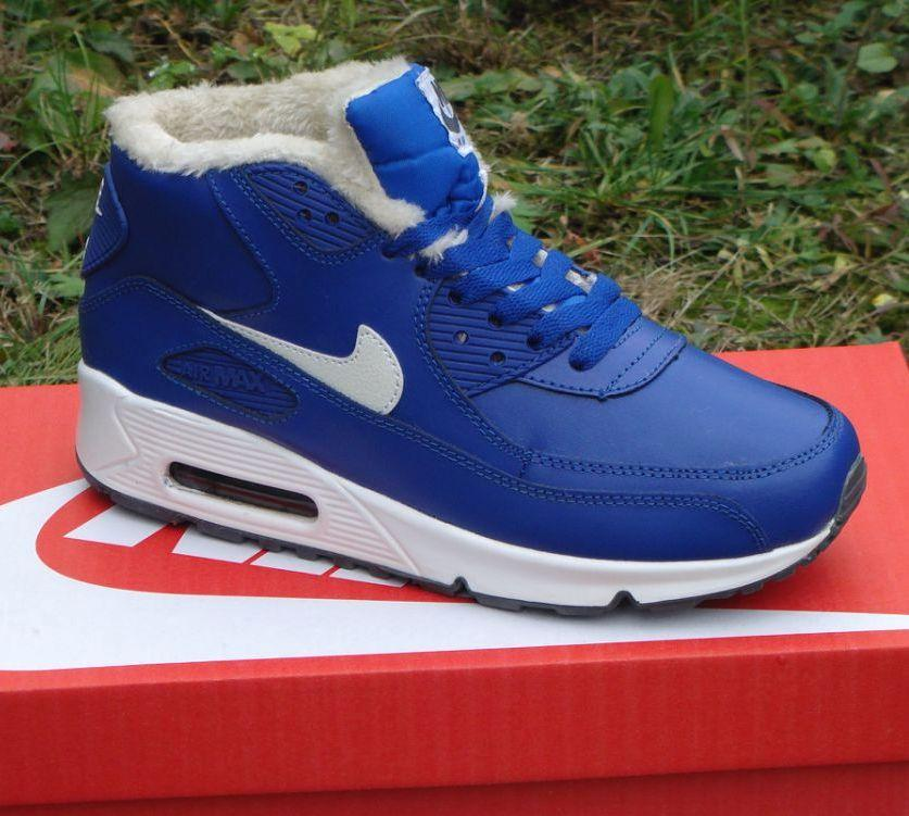 Зимние кроссовки в стиле Nike Air Max 90 с мехом  купить в Украине и ... 4b38196b14d