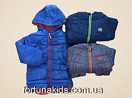 Куртки зимние на меху для мальчиков CROSSFIRE  1-5 лет