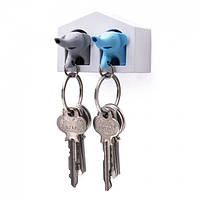 Ключница настенная и брелки для ключей Duo Elephant Qualy, фото 1