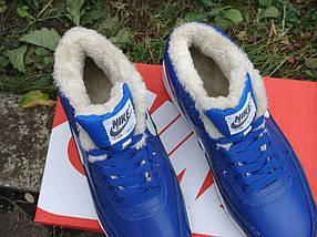 Зимние кроссовки Nike Air Max 90 с мехом, фото 3