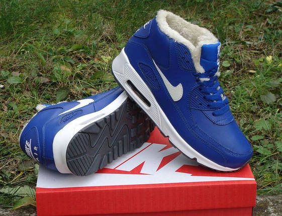Зимние кроссовки Nike Air Max 90 с мехом, фото 2