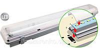 Светодиодный герметичный LED светильник DSP-LED 12 W IP65 1x600 мм, фото 1