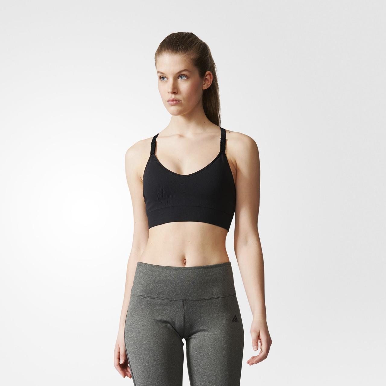 Женский спортивный бюстгальтер Adidas Performance Strappy (Артикул: BR5226)