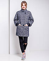 Молодежное пальто свободного кроя u-alb02208