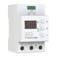 Терморегулятор terneo rk20 для электрических котлов