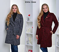 7afb9db994e8 Женские пальто больших размеров для полных в Харькове. Сравнить цены ...