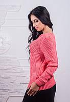 Женский вязаный свитер у-3860JS