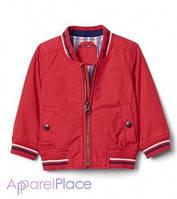 Gap Куртка красная Poplin varsity jacket