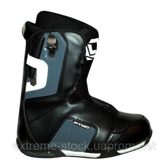 Сноубордические ботинки FTWO AGENT WHITE/BLACK 45