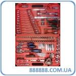"""Универсальный набор инструмента 1/4"""" 3/8"""" и 1/2 120 предметов 1-E1006 Ampro"""