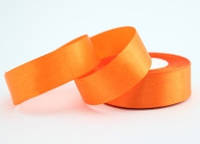Лента атласная 2,5см*23м оранжевый (144)