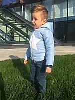 """Детская модная куртка для мальчиков демисезон осень """"Звезда"""" (2 цвета)"""