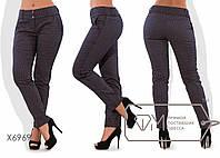 Стильные женские брюки большого размера у-6114BR