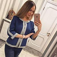 Модный женский пиджак е-6225PK